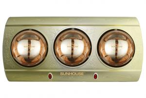 Đèn sưởi nhà tắm Sunhouse SHD3813 – 3 bóng